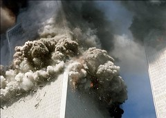 first collapse (wstera2) Tags: bush cia muslim islam georgebush worldtradecenter innocent 911 osama slaughter torture guantanamobay terrorists