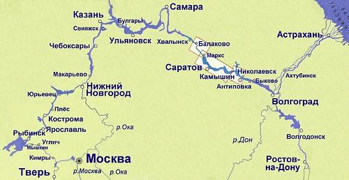 Карта-схема (БАЛАКОВО-КАМЫШИН)