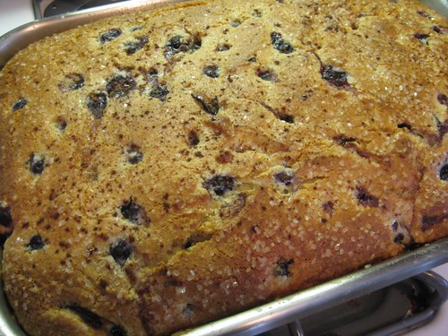 Dick Brook's Blueberry Cake