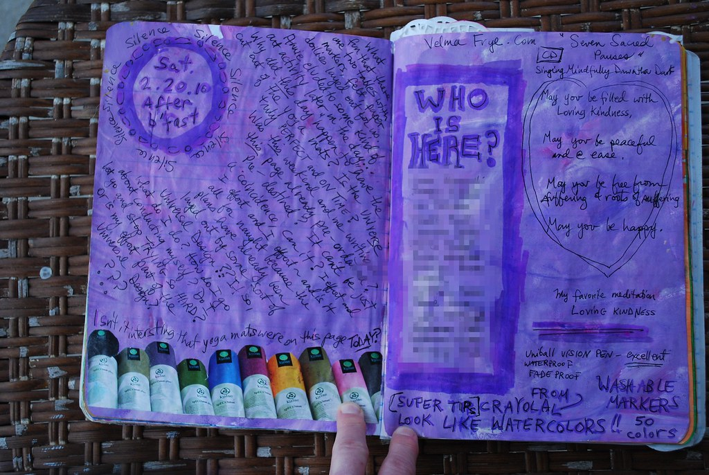 Art Journal Peaceful Practices Retreat01