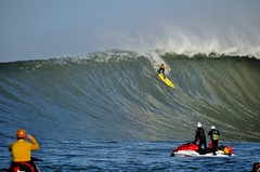 Starting the Slide (Lyrinda) Tags: ocean sea seascape photo surf waves surfer contest wave surfers halfmoonbay mavericks pillarpoint princetonbythesea mavericks10