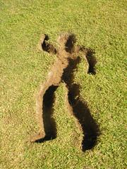 Ausentes 03 (jabondepolvo) Tags: arte gente personas uabc escuela silueta lugar landart mexicali tierra vaco ausentes cavar