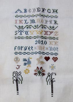 The Drawn Thread - Forget me not 22022010