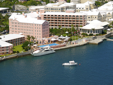 The Fairmont Hamilton Princess  - arial view