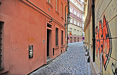 "Prague Alley • <a style=""font-size:0.8em;"" href=""http://www.flickr.com/photos/45090765@N05/4387102551/"" target=""_blank"">View on Flickr</a>"