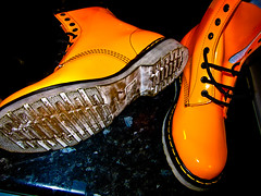 Doc Martens Orange Patent Leather (CWhatPhotos) Tags: pictures camera england orange men love feet me leather yellow digital canon that boot foot photo mine foto with boots photos lace dr air picture powershot wear have doctor footwear fotos mens stitching z comfort sole doc cushion marten which soles dm docs laces contain drmartens bouncing airwair s90 docmartens welt martens patent laced 1460 drmarten cushioned wair bouncingsoles 1460s airwear cwhatphotos
