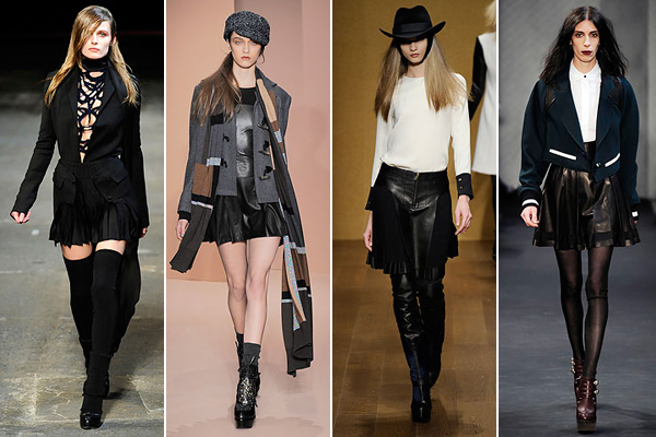 tough-pleated-mini-fall-2010-trends