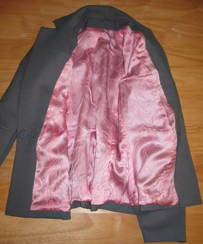 Pink Silk Lining
