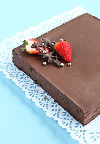 Pastís mousse de xocolata