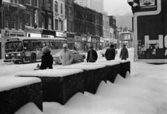 Scan10727cc (citatus) Tags: toronto canada winter storm 1976 1977 yonge wellesley street bw minolta srt 102 1970s ttc bus