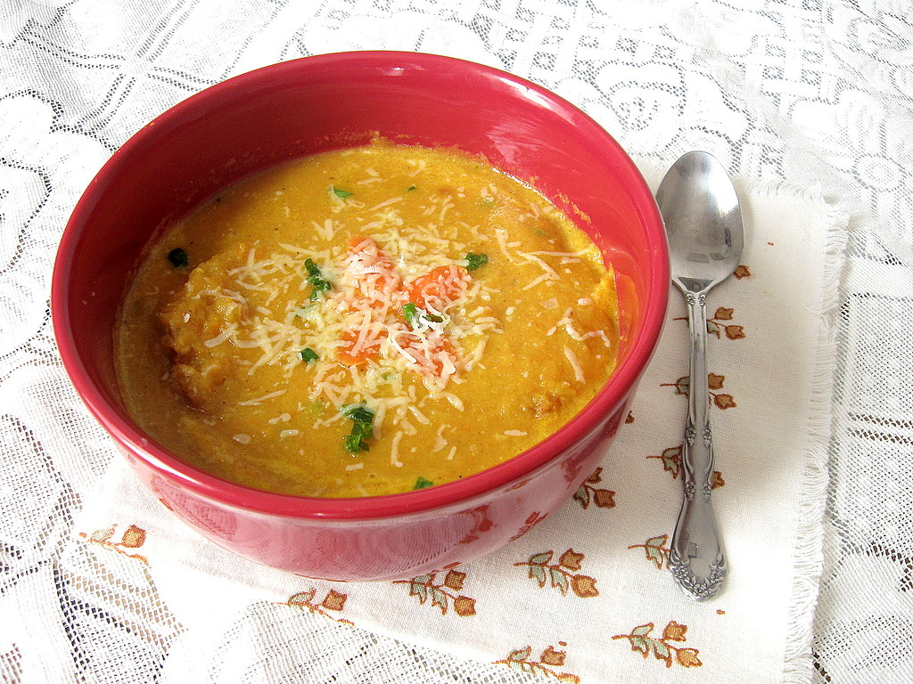 Carrot and Lentil soup 3