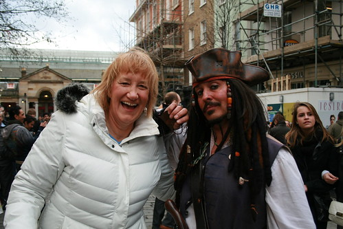 Karen and Jack Sparrow