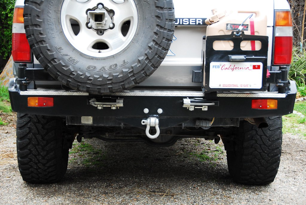 Fs Kaymar Bumper With Dual Swingout For 80 Series In So