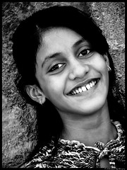 Shiny smile (On The Abbey Road) Tags: school beautiful smile childhood kids week10 lovely mumbai mws blackwhitephotos vasaifort flickraward