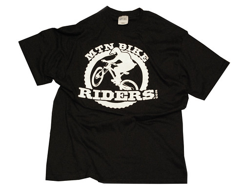 MtnBikeRiders.com T shirt