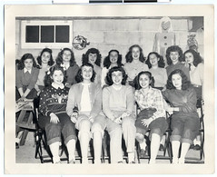 """Lammie"" high school sorority girls doing Halloween party planning in Dorothy Goldetsky"