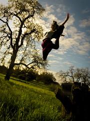 someday i'll reach the sky (stoneylittleprincess) Tags: sun sunlight selfportrait love me girl field grass clouds fun happy dance lyrics jump free dancer tights skirt desire gymnast gymnastics mattnathanson cheerleader cheerleading touchthesky sheepjump comeongethigher somedayillreachthesky