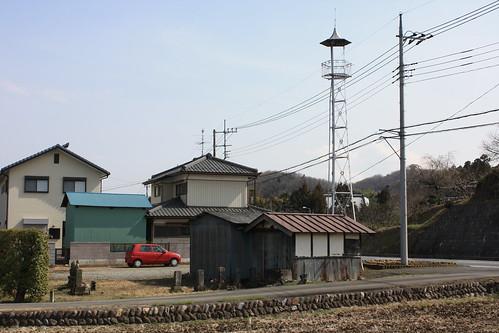 勝田の火の見櫓(嵐山町)