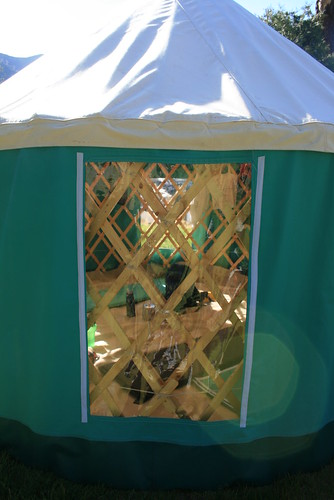 My Yurt at Cache Creek