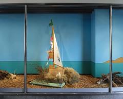 Osterschaufenster 2010 (Loeb AG) Tags: schaufenster ostern schiff hasen loeb osterhase