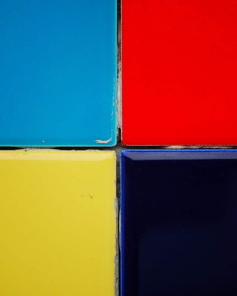 Four colorful squares.