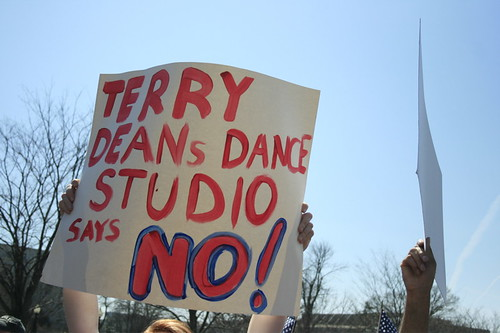 Terry Deans dance studio says NO! by Pittsford Patriot
