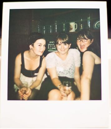 Wellington Tweetup: @McQuillanator (Laura), @sarahrose (Moi), & @MsConstantine (Kim)