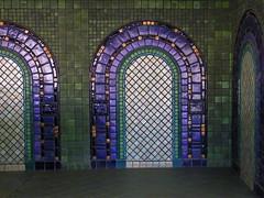 People Mover - Cadillac Station (Maia C) Tags: tile michigan mosaic detroit peoplemover pewabic comment maiac kodakz1015 kodakeasysharez1015is renaissancestation