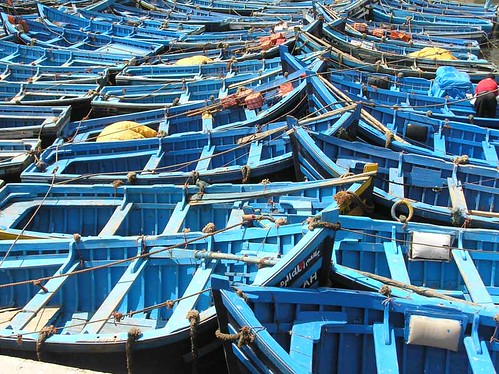Boats in Essaouira
