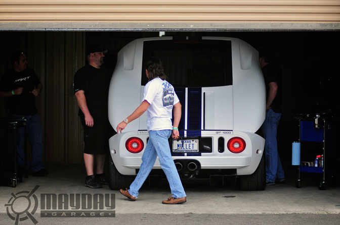 Dont laugh, this guy is serious about his cars. Id rock a mullet if I can get that FordGT!