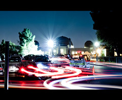 Flowing Lights (Emmanuel_D.Photography) Tags: california park canon long exposure front observatory page griffith sec 1740 emmanuel astig 137 f4l 50d expore dasalla