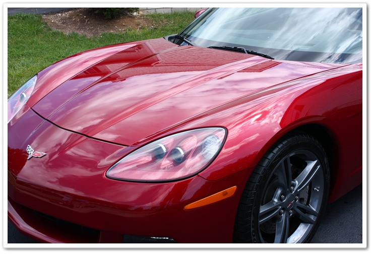 Chevrolet Corvette: Sealed with Blackfire Wet Diamond, and then topped with E-zyme Natura Wax