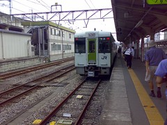 Hachiko Line train (Takasaki to Komagawa)
