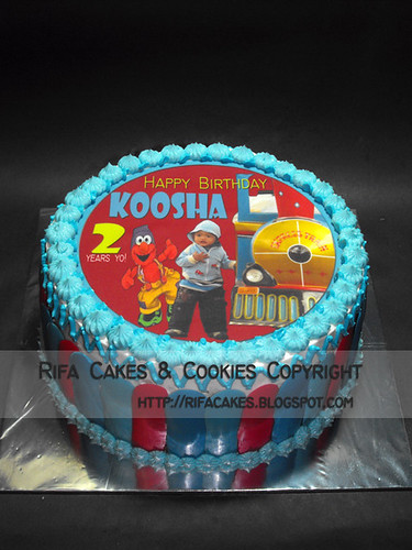 Blue Cake for Koosha