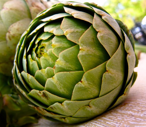 Artichoke at Santa Monica Farmers Market