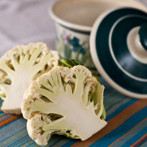 Floarea de conopida - partea comestibila