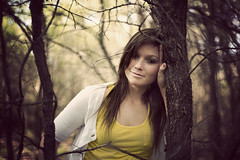 (Katherine Elizabeth) Tags: girl yellow forest 50mm woods texas sweet courtney 5d 18 katherineelizabeth