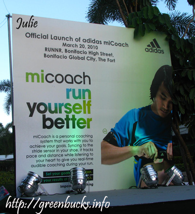 adidas miCoach Run Yourself Better
