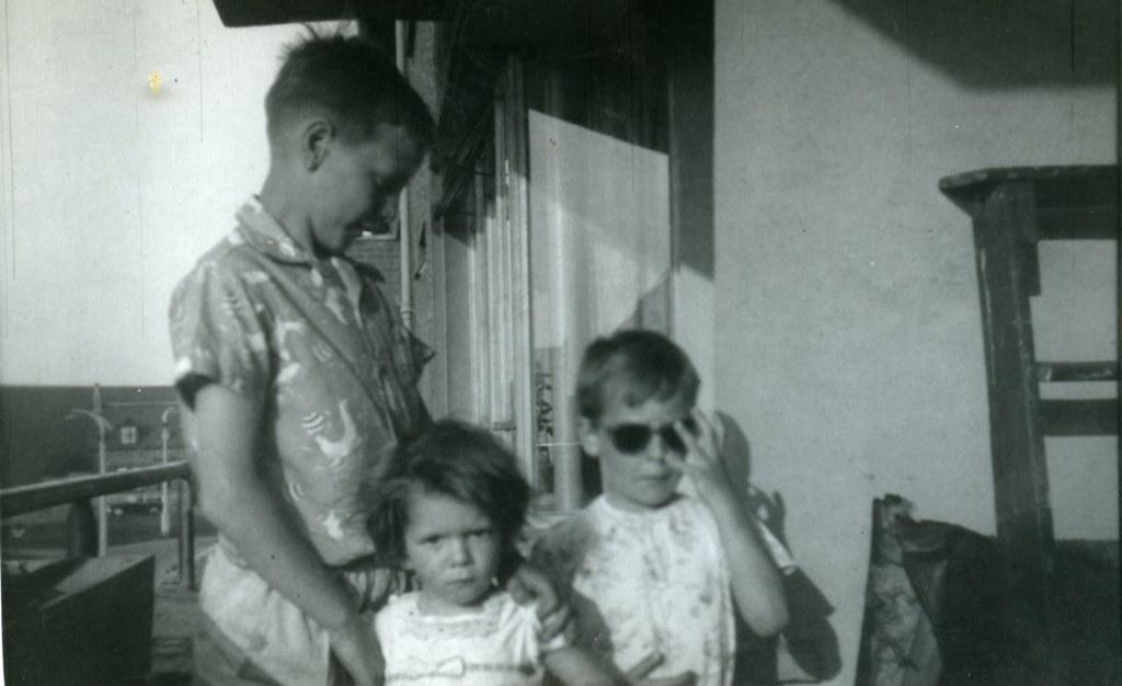 Verandah 43 Blairlogie Street, 1950s