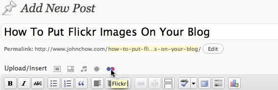 Flickr Photo Album for WordPress