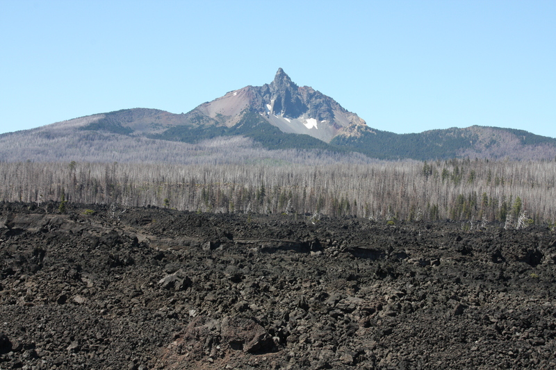 Peak Beyond the Lava Fields