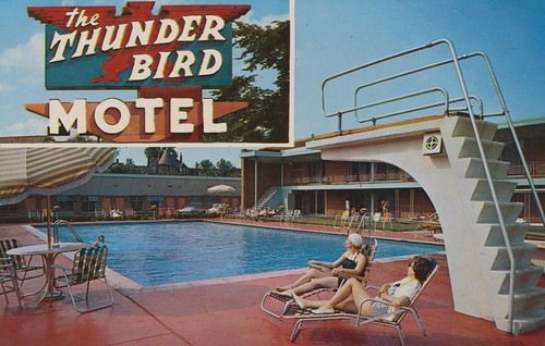 Wish You Were Hear: Thunderbird Motel - Chicago, Illinois