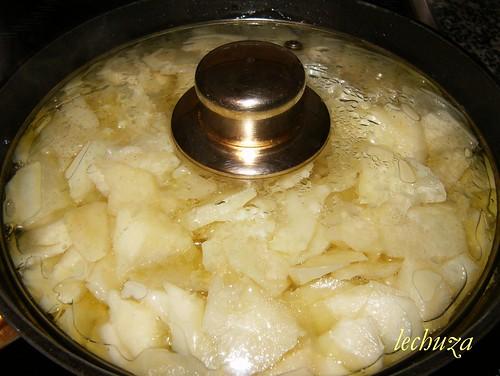 Tortilla-tapada