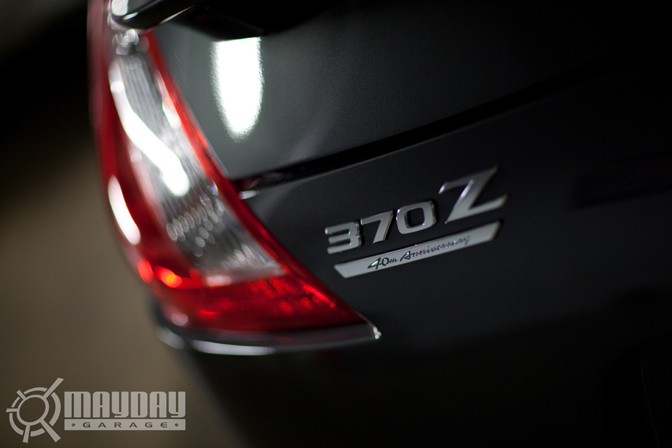 Damn. Fresh from the factory. 40th Anniversary 370Z