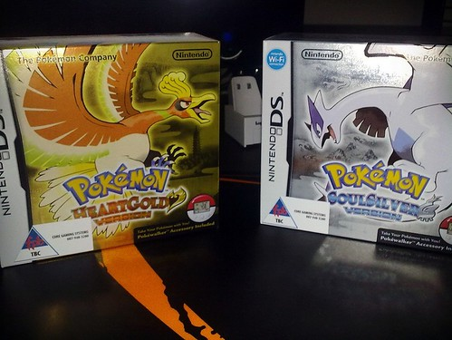 Pokémon Heart Gold and Soul Silver