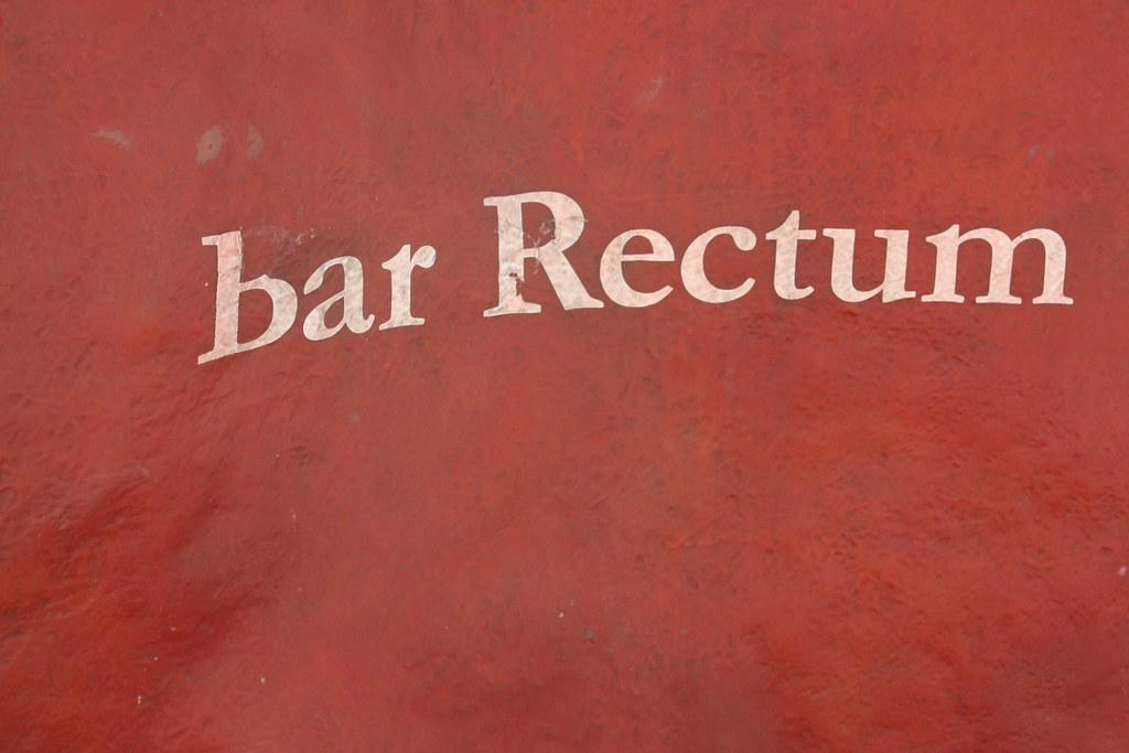 Bar Rectum ...