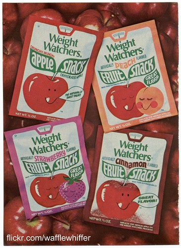 Weight Watchers Fruit Snacks - 1977