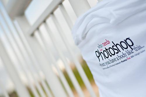 Happy Fence Friday: Photoshop World T-Shirt Edition!