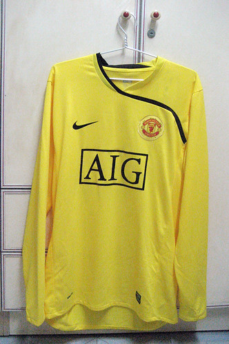 Manchester United 2008-2009 Goalkeeper Home L/S