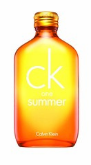 ck one summer 2010 bottle on white